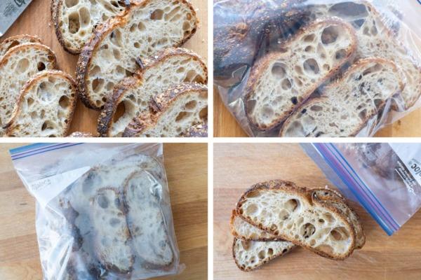la mejor forma de almacenar el pan, congelarlo