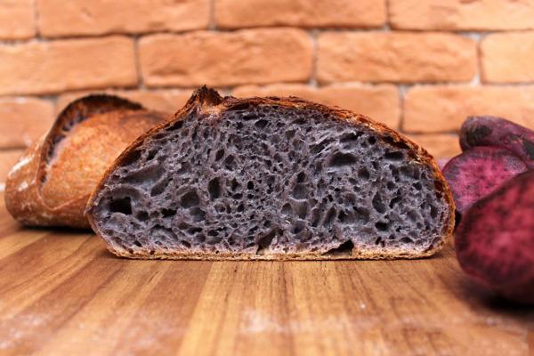 1617860577 Pan morado de camote Me encanta el pan casero