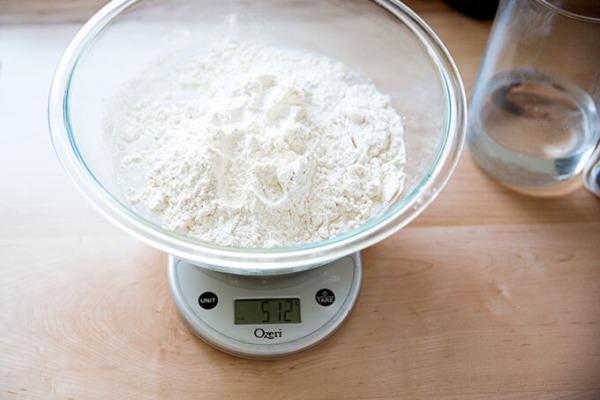 agregando la harina