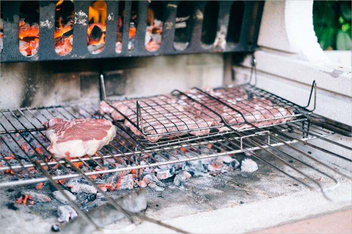 Carne italiana a la parrilla