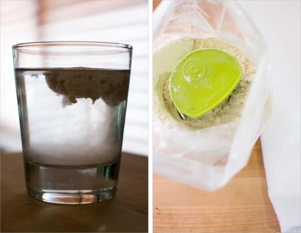 prueba de flotación de pan de masa madre de alta hidratación