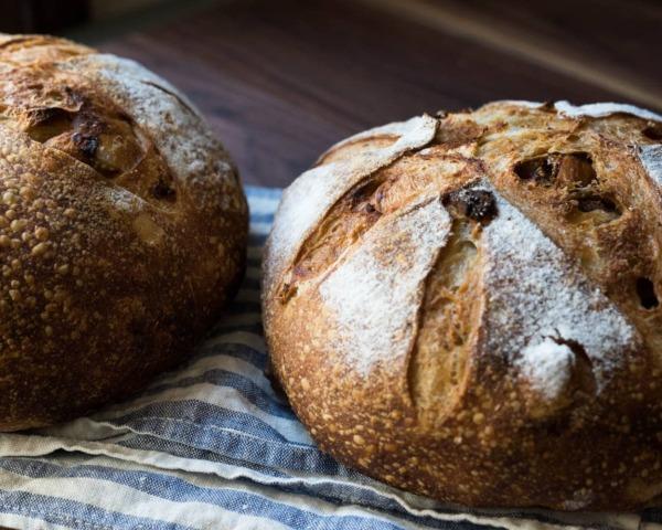el pan perfecto de masa fermentada de higos e hinojo