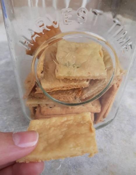 galleta con eliminación de levain