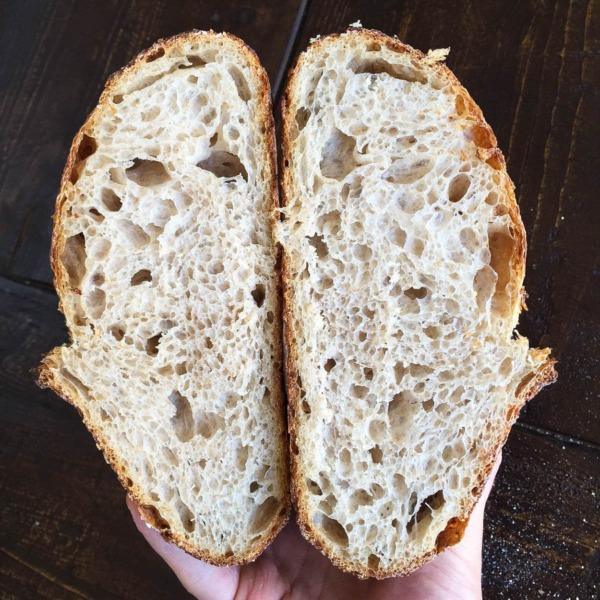 Pan rallado de masa madre