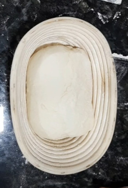 masa de pan semi integral