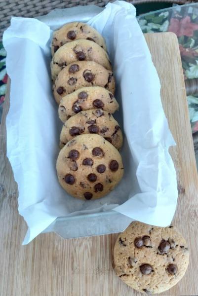 galletas con levadura natural