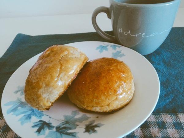 pan integral casero fácil después de hornear