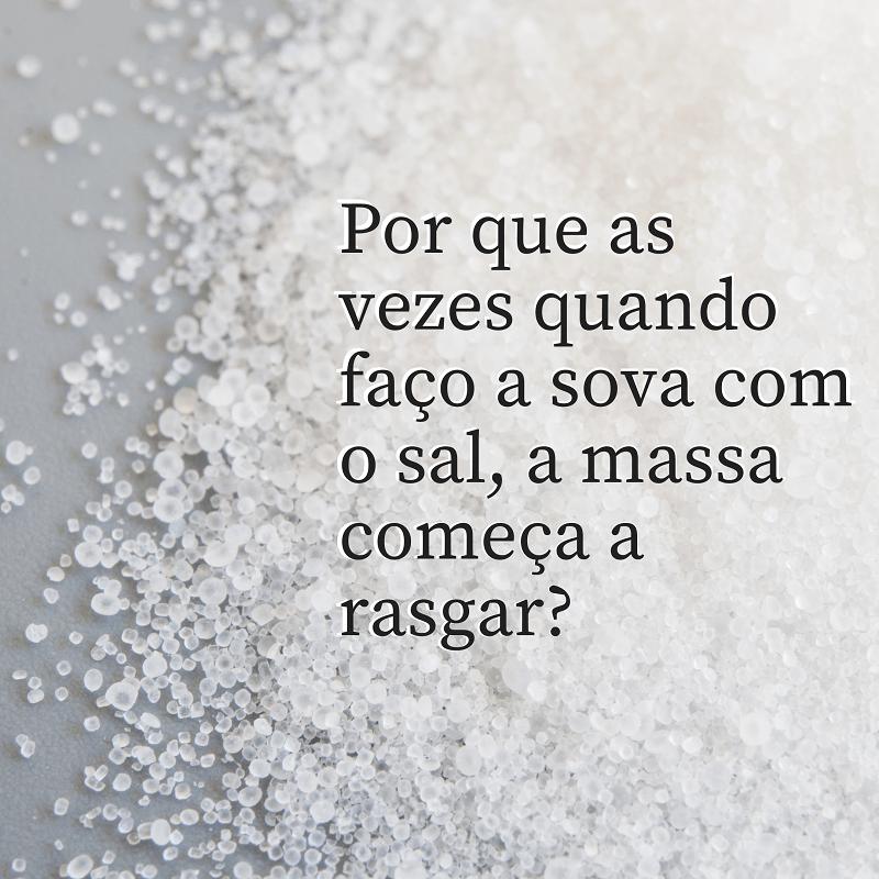 El efecto de la sal en la masa de pan